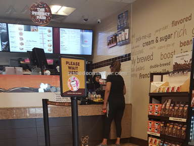Dunkin Donuts - The cashier lied about this establishment serving butter.