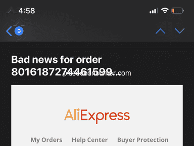 Aliexpress Shipping Service review 768121
