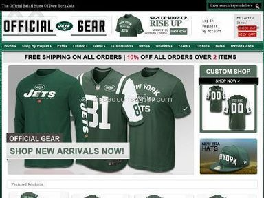 New York Jets Fan Shop Footwear and Clothing review 34691