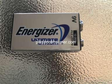 Energizer - Bad customer care.