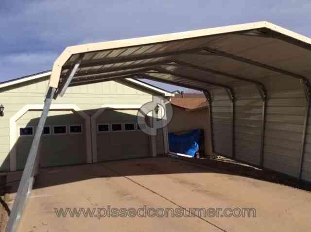 Eagle Carports Carport Installation Review 185548