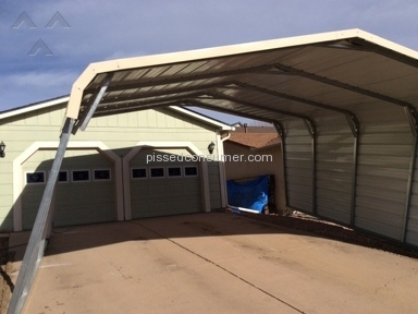 Eagle Carports Carport Installation review 185548