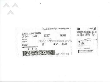 Lan Airlines Inflight Service review 130429