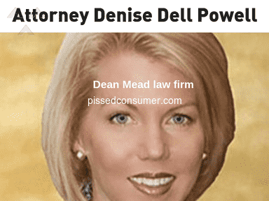 Burr and Forman - Attorney Denise Powell took the money and disappeared