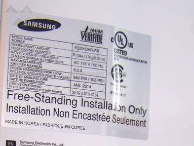 Samsung Repair Center - Samsung Refrigerator RS22HDHPNSR/AA