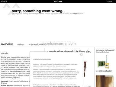 Target Website review 64455