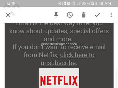 Netflix Scammed me