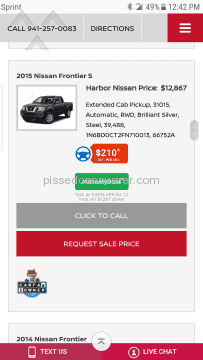 Harbor Nissan Auto Advertisement