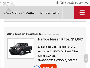 Harbor Nissan - Simple Review #1491514593