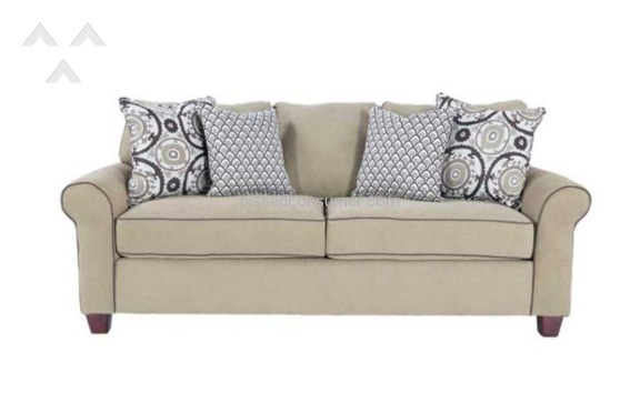 Simmons Upholstery Alexander Froth Fabric Sofa