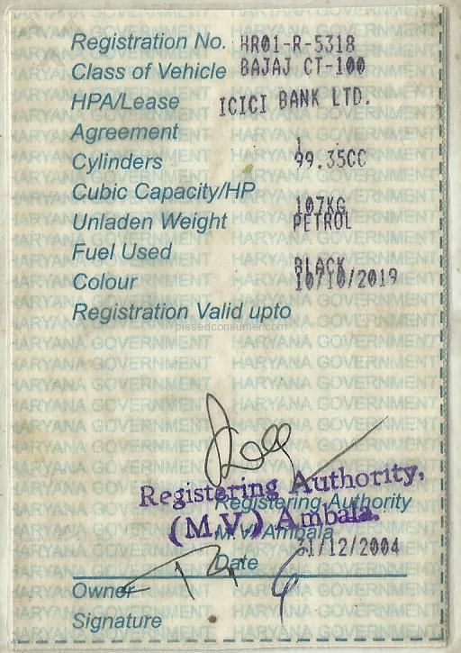 Icici Bank - Non Receipt Of Clerance Certificate After Paying My
