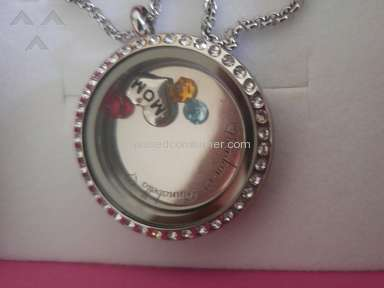 Mynamenecklace - Engraved Floating Charms With Locket Round Locket With Crystals Review from Avondale, Arizona