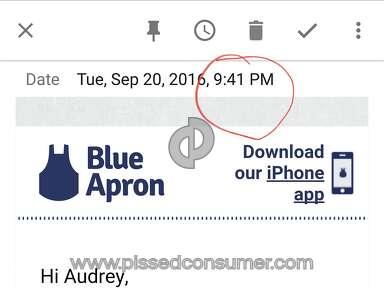 Blue Apron Fedex Delivery Service review 163070