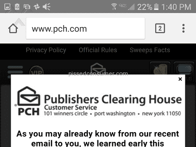 Publishers Clearing House - Sweepstakes Review from Sandy, Oregon