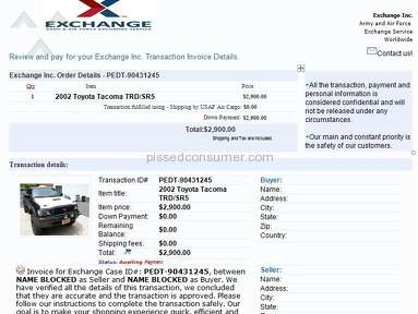 Exchange Inc Dealers review 26565