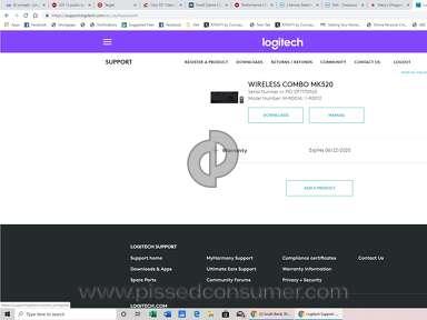 Logitech - Purchase of Warranty