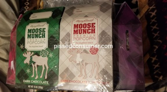Harry And David Moose Munch Popcorn