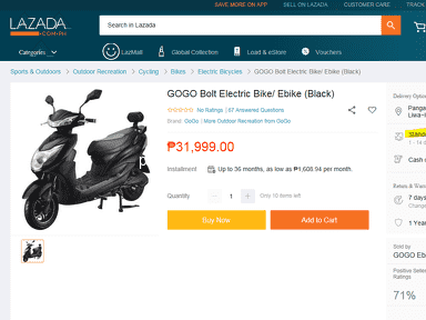 Lazada Philippines - Delivery costs
