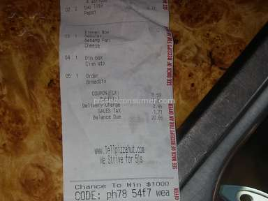 Pizza Hut Pizza review 246006