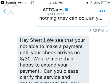 ATT - I'm ready to change  providers