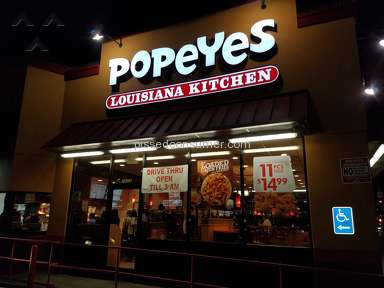 Popeyes Louisiana Kitchen - Do not patronize this business