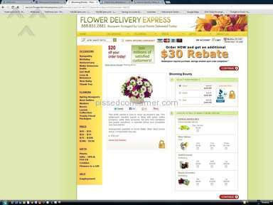 Flower Delivery Express Delivery Service review 16247