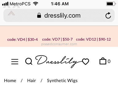 Dresslily Synthetic Wig review 265934