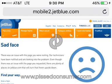 JetBlue Airways - Website Review