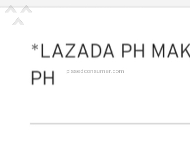 Lazada Philippines - Disappointed with the Service