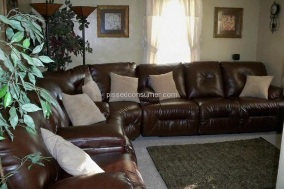 Ashley Furniture Durablend Leather Sofa