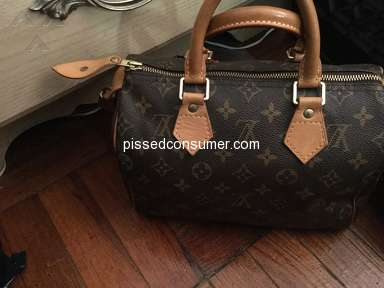 The Realreal - LV speedy 25... smells like Garbage!