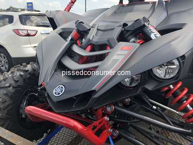 Yamaha Motor - Yamaha YXZ1000 clutch out within 100 miles of purchase