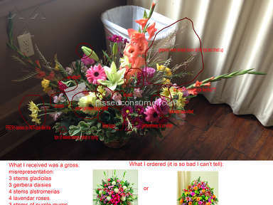 Avasflowers Arrangement review 188984
