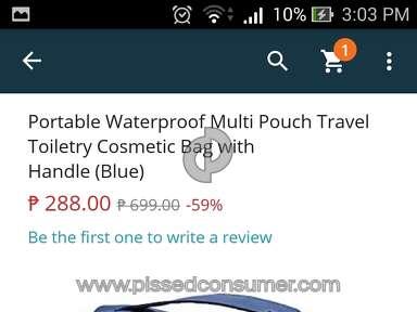 Lazada Philippines Handbag review 167190