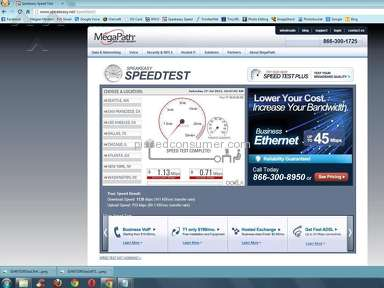 Frontier Communications Internet Service review 24981