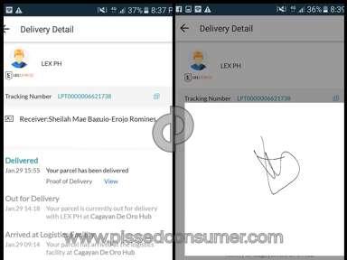 Lazada Philippines - Ghost signatures