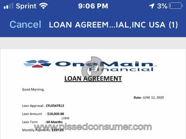 OneMain Financial Loan review 639073