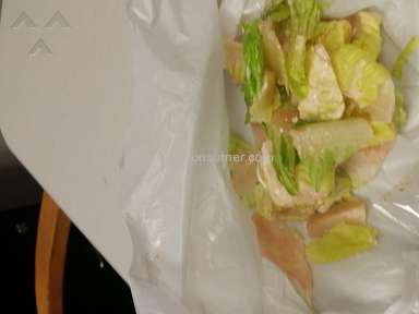 Walmart - Bad Chicken Caesar Salad