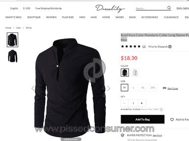 Dresslily - Awesome mens shirts