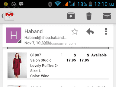 Haband - Dress Suit Review from Lagos, Lagos