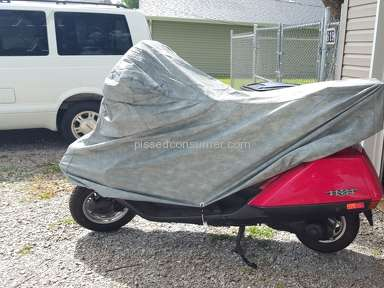 Cover Anything Scooter Cover review 216614