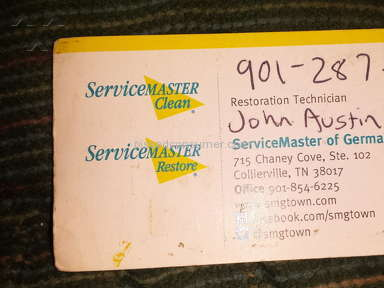 Servicemaster Cleaning Service review 97257