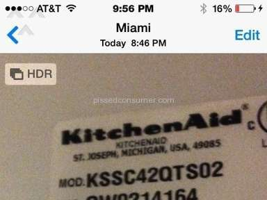 Kitchenaid Appliances and Electronics review 52567