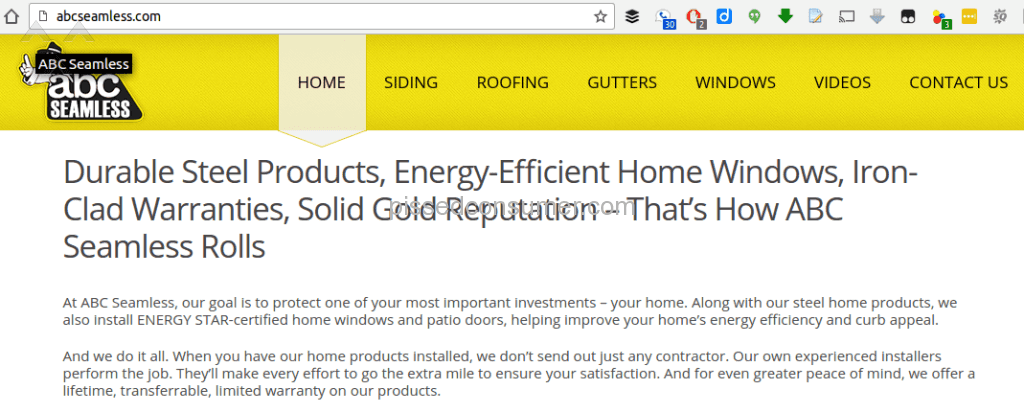 Abc Seamless   Solid Gold Reputation? Try Perforated Rust (see Their Other  Reviews). Sc 1 St Pissed Consumer