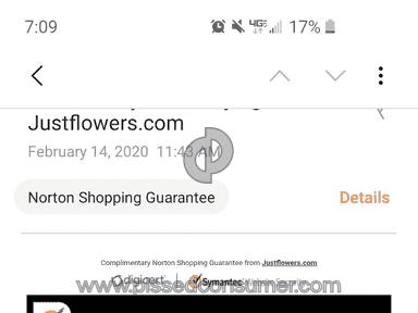 Justflowers Flowers / Florist review 519699