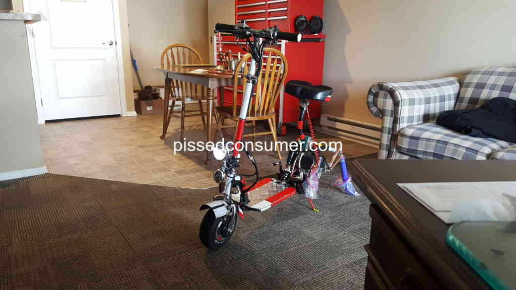 14 extreme scooters reviews and complaints @ ed consumer on hurricane  scooter wiring diagram,