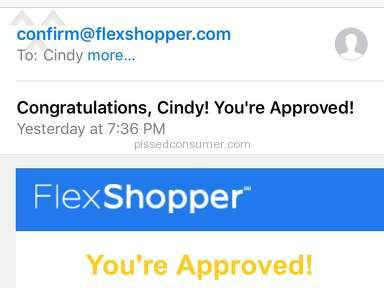 Flexshopper Account Review from Lewisville, Texas