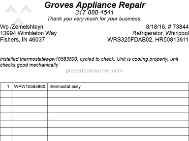 Whirlpool Appliances and Electronics review 176002