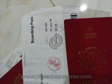 Air Asia Flight Attendant Review from Shah Alam, Selangor