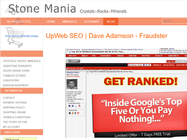 Conned by Dave Adamson of UpWeb SEO Australia